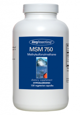 MSM 750 mg 150 Vegetarian Capsules,Allergy Research Group