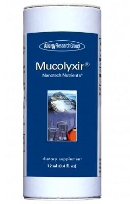 Mucolyxir® ,Allergy Research Group,12 mL (0.4 fl. oz.)