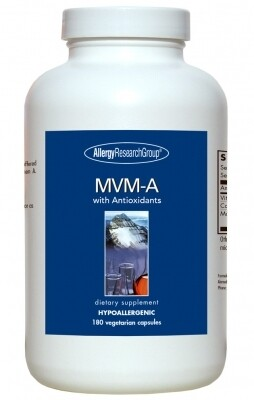MVM-A 180 Vegetarian Capsules Allergy Research Group