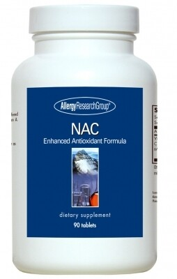 NAC Enhanced ,Allergy Research Group,90 Tablets