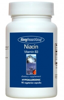 Niacin (Vitamin B3)90 Vegetarian Capsules Allergy Research Group