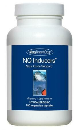 NO Inducers 180 Vegetarian Capsules Allergy Research Group