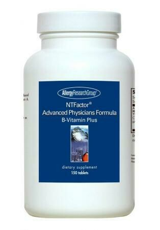 NTFactor® Advanced Physicians Formula ,Allergy Research Group,150 Tablets