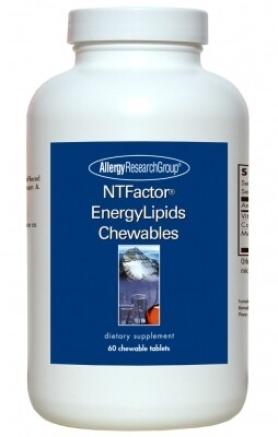 NTFactor EnergyLipids 60 Chewable Wafers Allergy Research Group