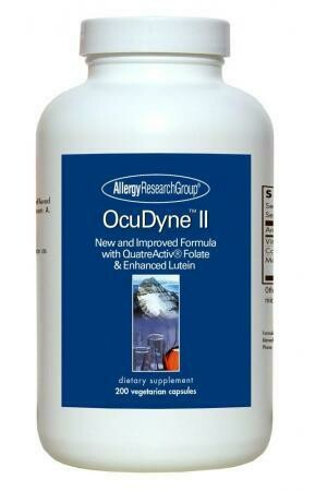 OcuDyne™ II ,Allergy Research Group,200 Vegetarian Capsules