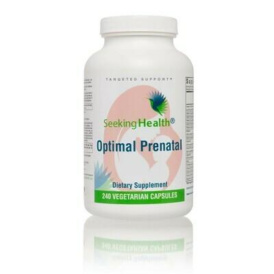 OPTIMAL PRENATAL ,Seeking Health,240 CAPSULES