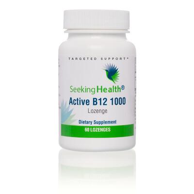 ACTIVE B12 1000 - 60 LOZENGES Seeking Health