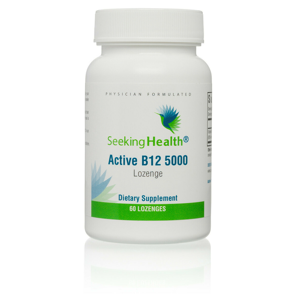 ACTIVE B12 5000 - 60 LOZENGES Seeking Health