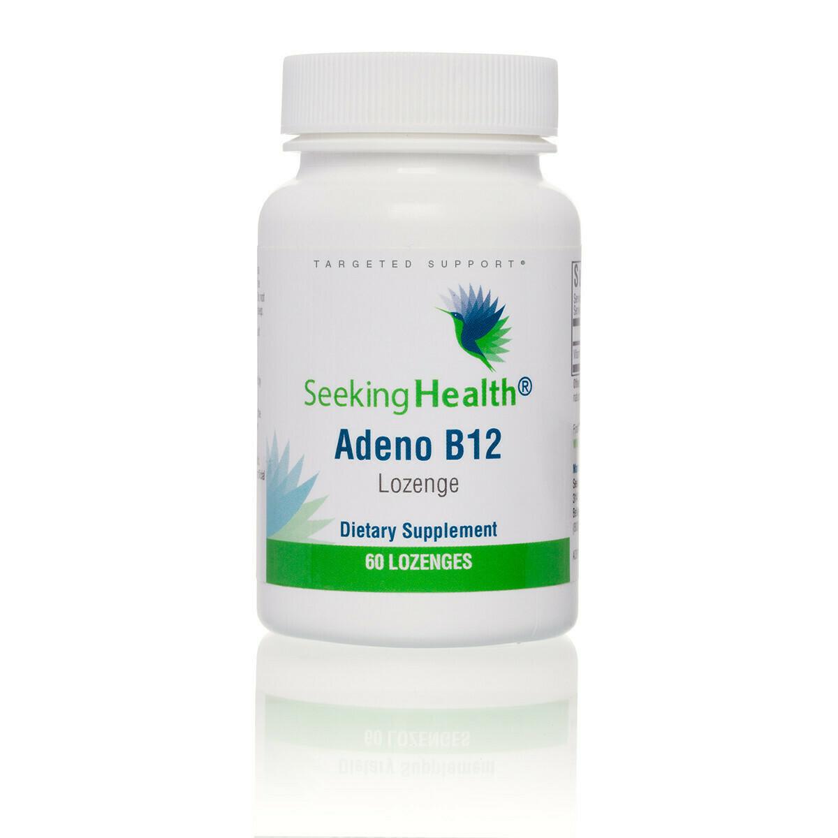 ADENO B12 - 60 LOZENGES  Seeking Health