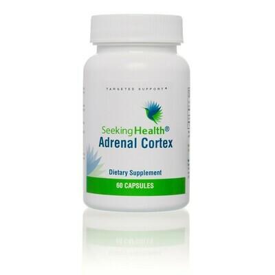 ADRENAL CORTEX -50 mg 60 CAPSULES Seeking Health