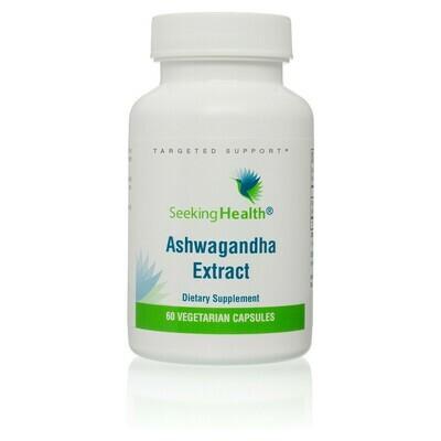 ASHWAGANDHA EXTRACT -420 mg 60 CAPSULES Seeking Health