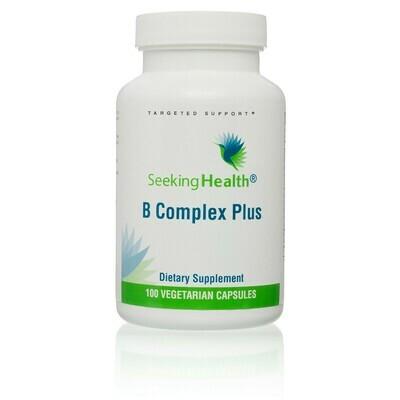 B COMPLEX PLUS - 100 CAPSULES Seeking Health