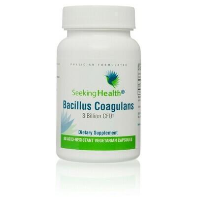 BACILLUS COAGULANS - 60 CAPSULES Seeking Health