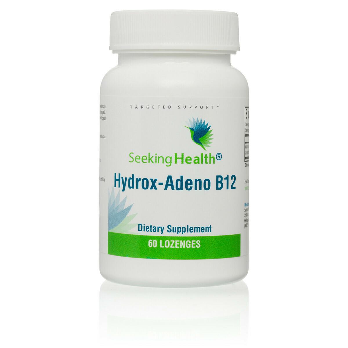 HYDROX-ADENO B12 - 60 LOZENGES Seeking Health