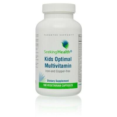 KIDS OPTIMAL MULTIVITAMIN - 180 CAPSULES Seeking Health