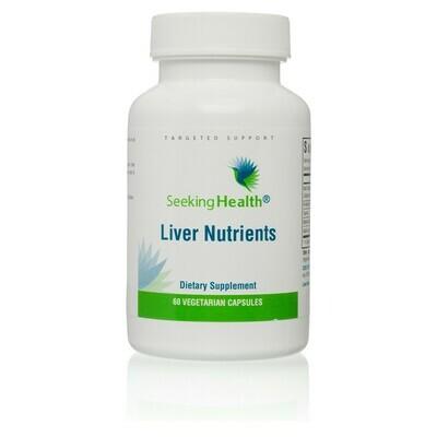LIVER NUTRIENTS - 60 CAPSULES Seeking Health