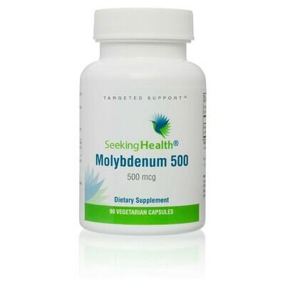MOLYBDENUM 500 - 90 CAPSULES Seeking Health