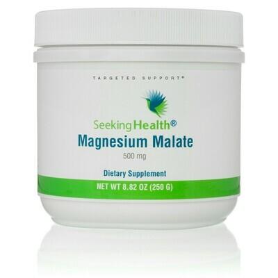 MAGNESIUM MALATE - 500 mg  100 SERVINGS Seeking Health