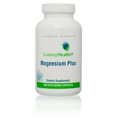MAGNESIUM PLUS  100 CAPSULES Seeking Health