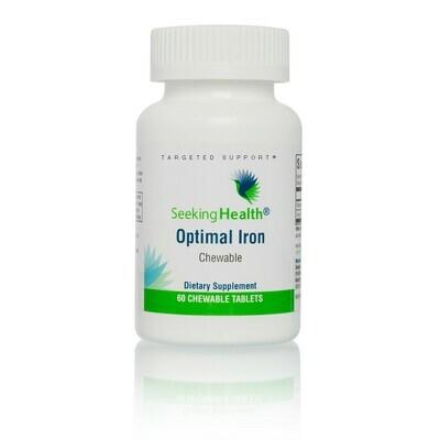 OPTIMAL IRON CHEWABLE - 60 TABLETS Seeking Health