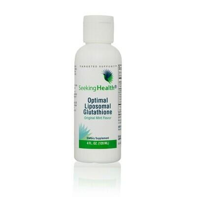 OPTIMAL LIPOSOMAL GLUTATHIONE ORIGINAL MINT - 120 ml Seeking Health