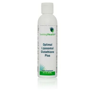 OPTIMAL LIPOSOMAL GLUTATHIONE  Plus ORIGINAL MINT - 120 ml Seeking Health