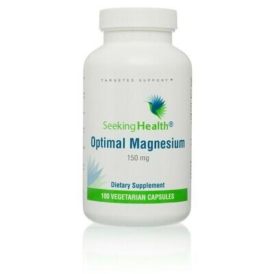 Optimal Magnesium 100 vegcaps Seeking Health
