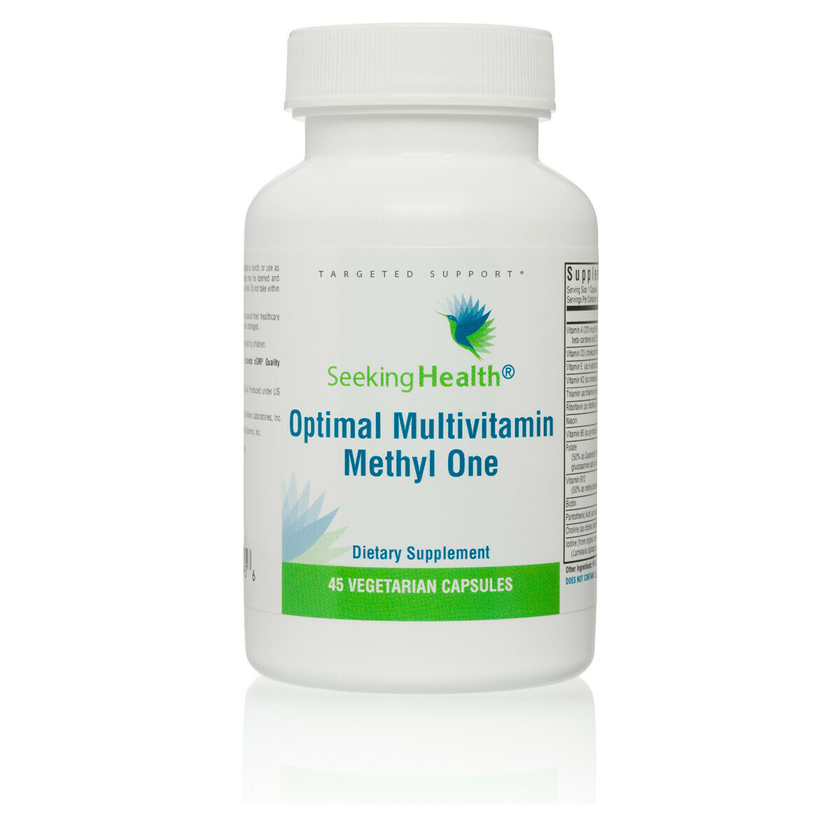 OPTIMAL MULTIVITAMIN METHYL ONE - 45 VEGETARIAN CAPSULES Seeking Health