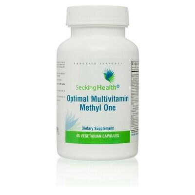 OPTIMAL MULTIVITAMIN METHYL ONE - 45 VEGETARIAN CAPSULES Seeking Health