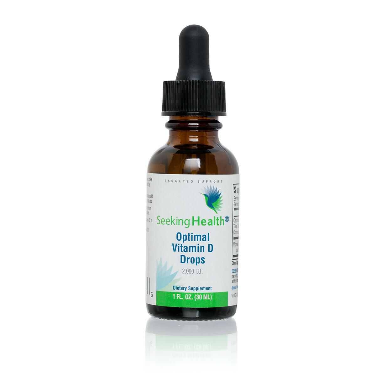 OPTIMAL VITAMIN D DROPS  30 ml Seeking Health