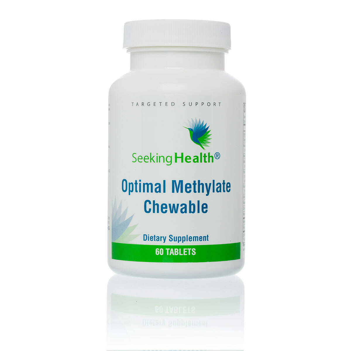 OPTIMAL METHYLATE CHEWABLE - 60 TABLETS,Seeking Health