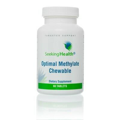 OPTIMAL METHYLATE CHEWABLE - 60 TABLETS,Seeking Health