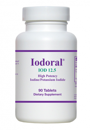 Optimox Iodoral 12.5 mg  90 capsules Allergy Research Group