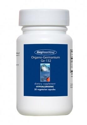 Organo-Germanium Ge-132 ,150 mg 50 Vegetarian Capsules Allergy Research Group