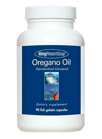Oregano Oil ,Allergy Research Group ,90 Fish Gelatin Capsules