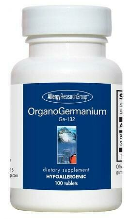 OrganoGermanium Ge-132, 200 mg 100 tablets Allergy Research Group