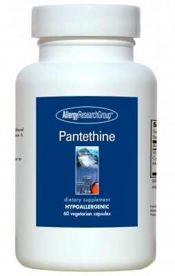 Pantethine,Allergy Research Group , 60 Vegetarian Capsules