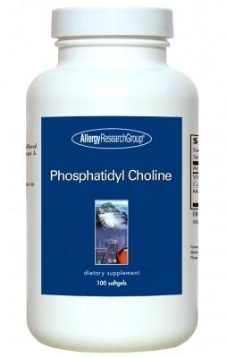Фосфатидилхолин,Allergy Research Group , 100 мягких капсул