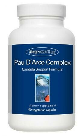 Pau D'Arco Complex ,Allergy Research Group ,90 Vegetarian Capsules