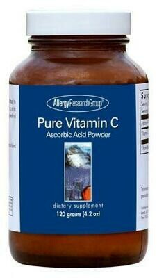 Pure Vitamin C  120 g Allergy Research Group