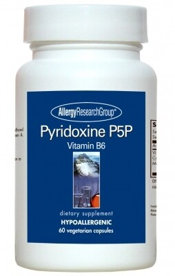 Pyridoxine P5P  60 Vegetarian Caps Allergy Research Group