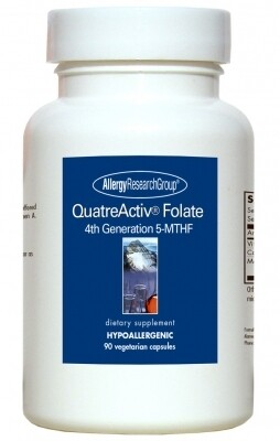QuatreActiv® Folate ,Allergy Research Group,90 Vegetarian Capsules