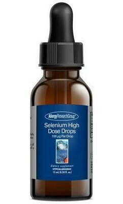 Selenium High Dose Drops,Allergy Research Group, 15 mL (0.50 fl. oz.)