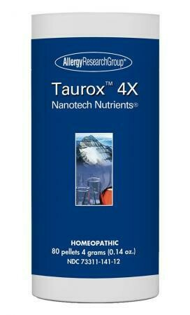 taurox ™ 4x ,Allergy Research Group ,80 гранул 4 г