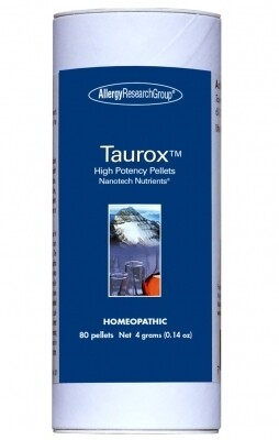 Taurox™ High Potency ,Allergy Research Group,80 pellets 4 grams (0.14 oz.)