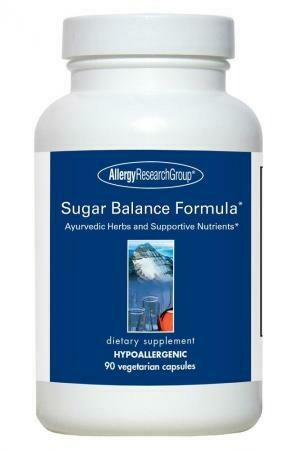 Sugar Balance Formula* ,Allergy Research Group,90 Vegetarian Capsules