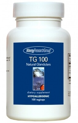 TG 100 100 Vegicaps,Allergy Research Group
