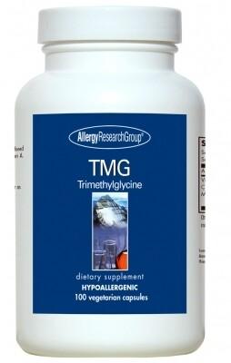 TMG ,Allergy Research Group,100 Vegetarian Capsules