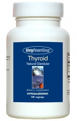 Thyroid 40 mg 100 Vegicaps Allergy Research Group