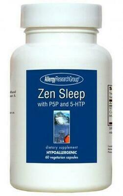 Zen Sleep ,Allergy Research Group,60 Vegetarian Capsules
